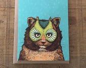 OwlCat // Greeting Card
