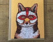 ChickenFox // Greeting Card