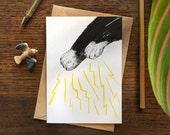 Magic Paws // Greeting Card