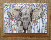 Elephant // Greeting Card