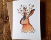 Jackalope // Greeting Card
