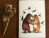 Notebook, Jotter, Mini Sketchbook | BEAR DANCE