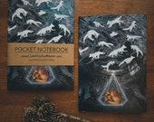 Notebook, Jotter, Mini Sketchbook | Ghosts