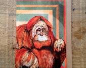 Orangutan // Greeting Card