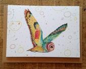 Owl // Greeting Card