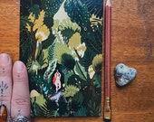 Notebook, Jotter, Mini Sketchbook | FOREST SPIRIT