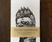 Notebook, Jotter, Mini Sketchbook | Bear Paw
