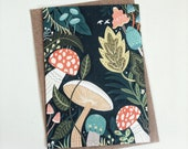 Mushroom Forest // Greeting Card