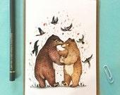 Bear Dance // Greeting Card