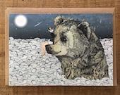 Bear Rock // Greeting Card