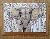Elephant // Greeting Card
