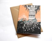 Fox Tree // Greeting Card