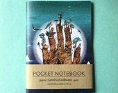 Notebook, Jotter, Mini Sketchbook of Stargate