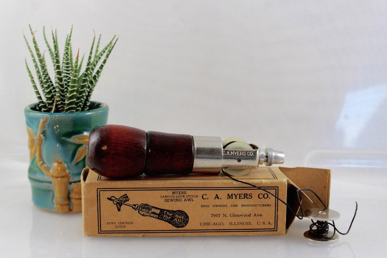 Vintage Myers Sewing Awl Chicago