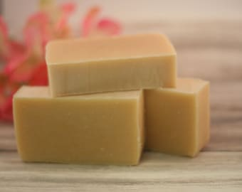 kefir and honey soap cold processed handmade lye soap natural unscented soap