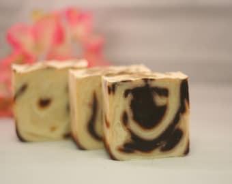 vanilla swirl soap handmade lye soap cold processed soap vanilla