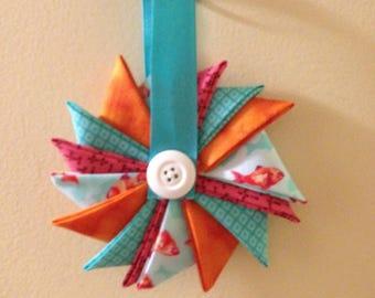 Fish Pinwheel Ornament