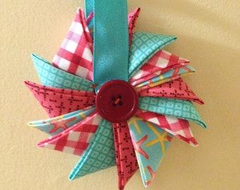 Starfish Pinwheel Ornament