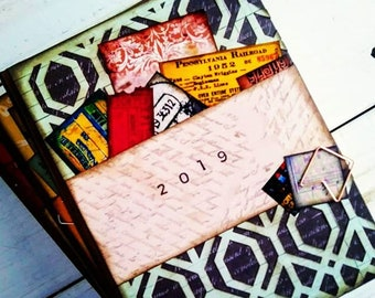 2019 Journal with Unlined Pages