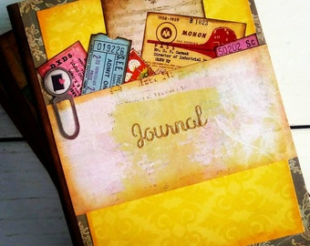 Journal with Unlined Pages
