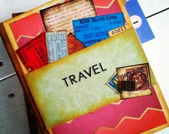 Travel Chunky Journal with Unlined Pages