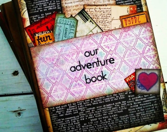 Featured listing image: Our Adventure Book Journal with Unlined Pages