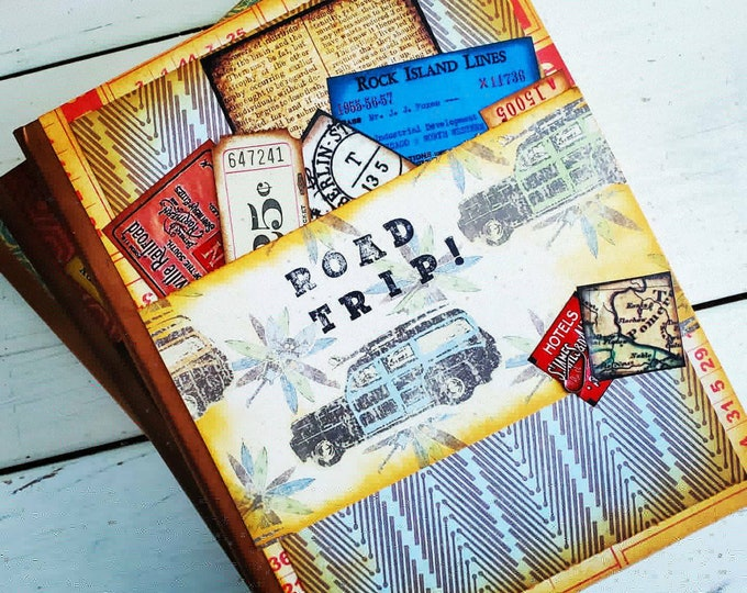 Featured listing image: Road Trip Journal with Unlined Pages