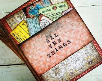 All The Things Journal with Unlined Pages