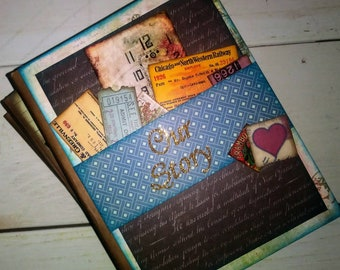 Our Story Chunky Journal with Unlined Pages