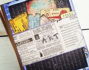 Art Chunky Journal with Unlined Pages
