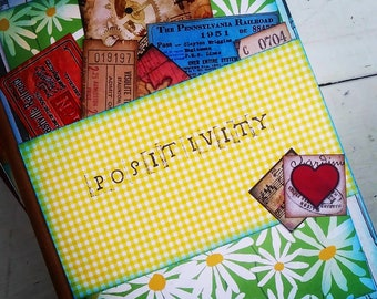 Positivity Journal with Unlined Pages