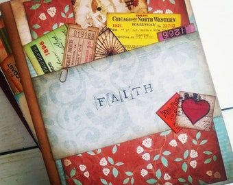 Faith Journal with Unlined Pages