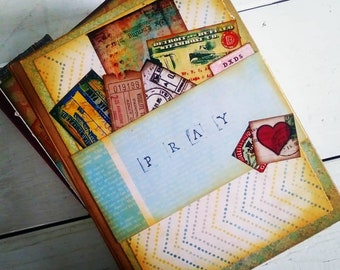 Pray Journal with Unlined Pages