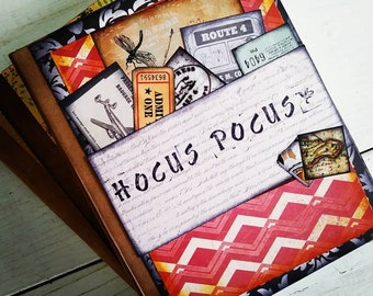Hocus Pocus Journal with Unlined Pages