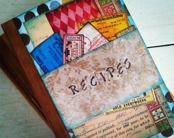 Recipe Book Journal with Lined Pages