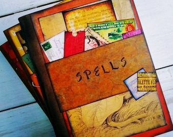 Spells Slim Journal with Unlined Pages