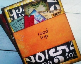 Road Trip Journal with Unlined Pages