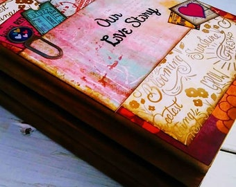 Our Love Story Journal with Unlined Pages