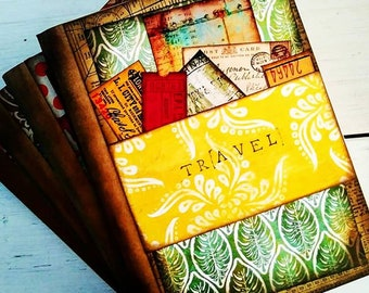 Travel Slim Journal with Unlined Pages