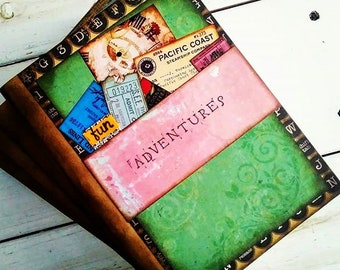 Adventures Slim Journal with Unlined Pages