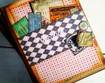 Vacation Journal with Unlined Pages