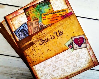 This is Us Journal with Unlined Pages