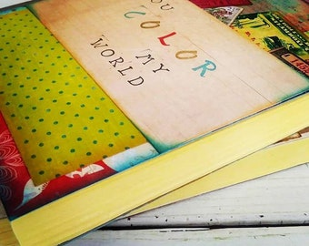 Color My World Journal with Unlined Pages