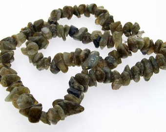 "Nugget  Oligoclase Jasper 8mm 31 Beads Gemstone one Strand 19"""