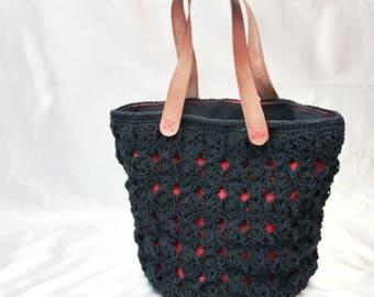 Crochet Bag Pattern (Dawayer) Instant Download