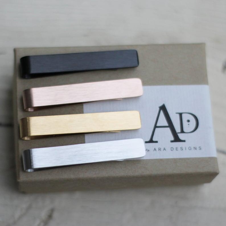 Laser Engraved Mens Tie Bar Custom Clip Pet Lover Gift LGC10521 Personalized Gifts Wedding Keepsake For Him Golden Retriever