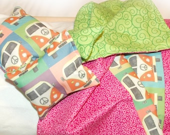 3C Bedding / Linens for 18 inch/American Girl Doll Beds