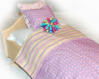 27C Bedding / Linens for 18 inch/American Girl Doll Beds