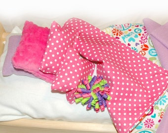 29E Bedding / Linens for 18 inch/American Girl Doll Beds