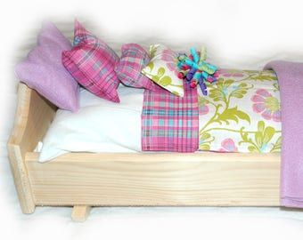 28D Bedding / Linens for 18 inch/American Girl Doll Beds